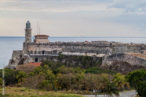 Fotobehang Havana Morro castle in Havana, Cuba