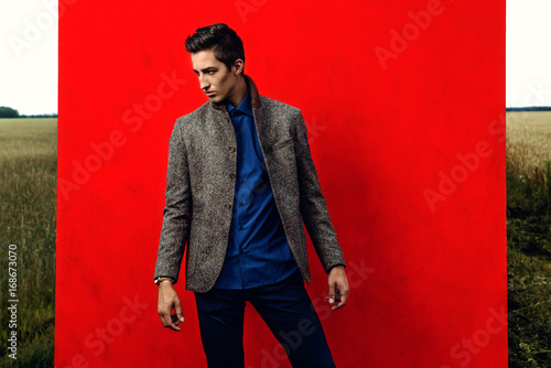 formal suit style - 168673070