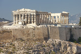 The Parthenon Athens Greece during the day  - 168675878