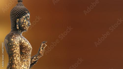Foto op Aluminium Boeddha Buddha statue