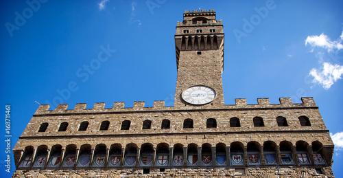 Aluminium Florence Palazzo Vecchio in Florence, Italy