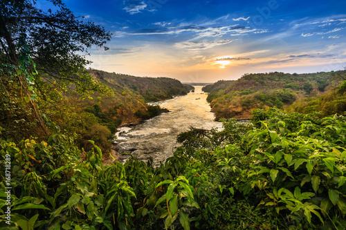 Nile river - Murchison Falls N.P. - Uganda