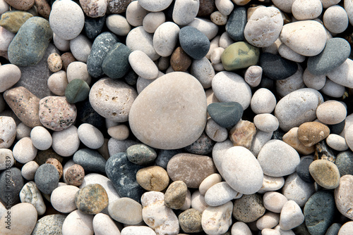 beach stones background - 168736839