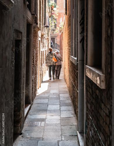 Fotobehang Smalle straatjes Venise rue