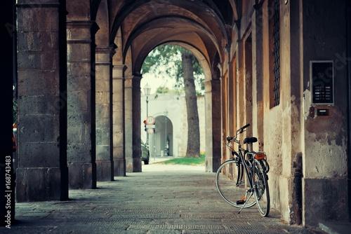 Lucca street bike hallway - 168743483