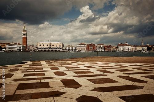 Foto op Plexiglas Venetie City skyline of Venice