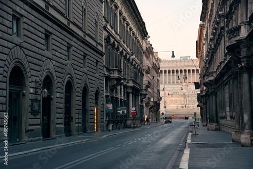 Staande foto Rome Rome Street View