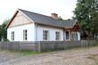 Leinwanddruck Bild - Bauernhof in Polen