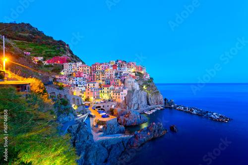 Manarola, Cinque Terre, Italien Poster