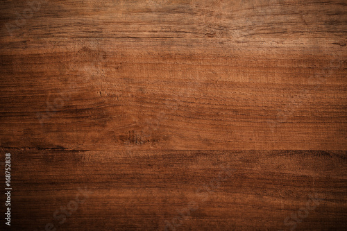Old grunge dark textured wooden background,The surface of the old brown wood texture - 168752838