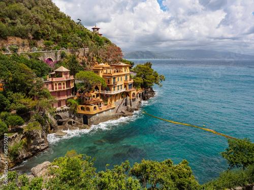 Papiers peints Ligurie Luxury villas near Portofino, Italy