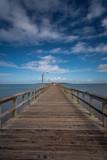 Coastal scenery in Punta del Este, Uruguay