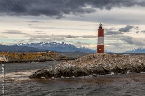 Aluminium Vuurtoren Lighthouse in the End of the World, Ushuaia, Patagonia, Argentiina