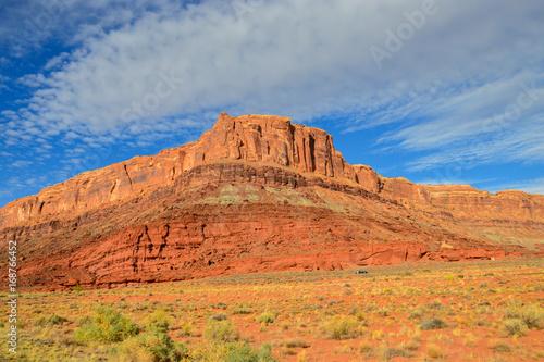 In de dag Oranje eclat Large parks in the United States. Utah desert