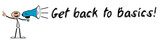 Get back to Basics! / Mann mit Megafon - 168773067