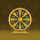 Wheel of fortune - 168791481