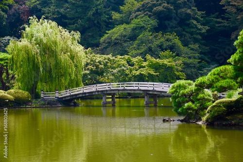 Fotobehang Tokio Garden Bridge