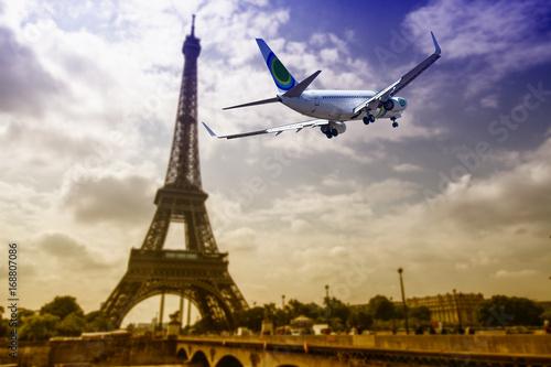 Fotobehang Eiffeltoren Tower Eiffel