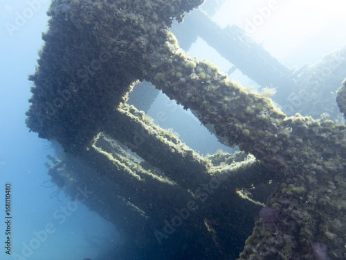 Foto op Canvas Schipbreuk Wreck exploration