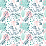 Seamless vector floral pattern - 168814899