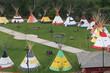 Native American Teepee at Calgary Stampede