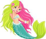 Mermaid Wall Sticker