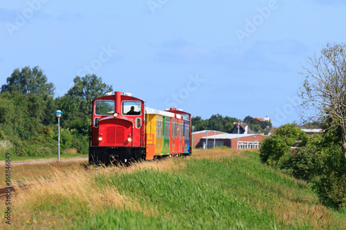 Papiers peints Voies ferrées Inselbahn Langeoog