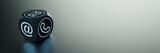 Moderner Würfel mit vielen Kontakt Möglichkeiten - 168859601
