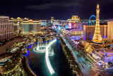 Las Vegas strip, Aerial view  - 168863261