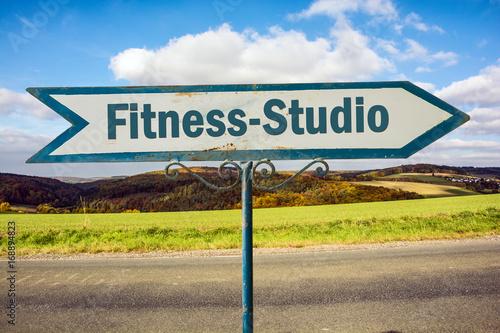 Schild 251 - Fitness-Studio