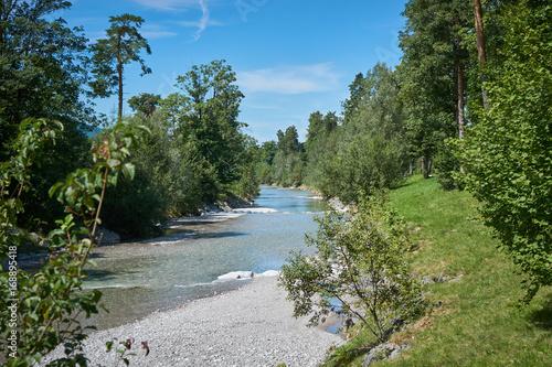 Papiers peints Rivière de la forêt Tegernsee Weissach