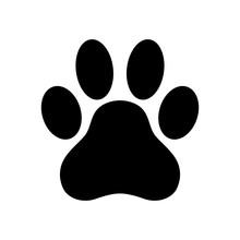 Dog Paw Print Paw Icon  Illustration Sticker