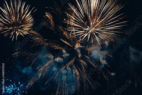 Amazing colorful fireworks