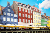 Colorful Copenhagen houses