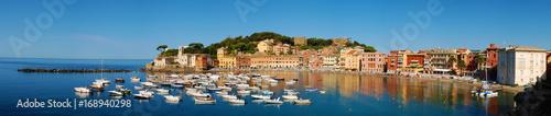 Foto op Plexiglas Liguria Sestri Levante - Baia del Silenzio