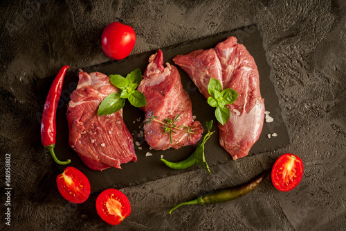 Papiers peints Steakhouse Beef