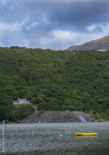 Llianberis lake and it's surrounding stunning landscape