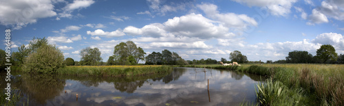 Panorama Reestdal Meppel Netherlands - 168964888