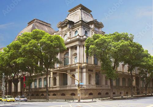 Foto op Aluminium Rio de Janeiro Бразилия. Рио-де-Жанейро. Национальный музей изобразительных искусств.
