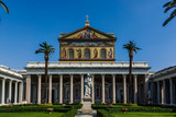 Basilica of Saint Paul Outside the Walls in Rome, Italy - 169000210
