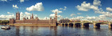 Panoramic picture of Houses of Parliament, Big Ben and Westminster Bridge, London - 169019215