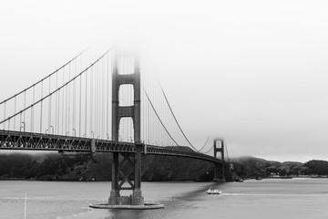 Golden Gate Bride - fog