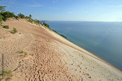 Steep Dunes on a Remote Lakeshore