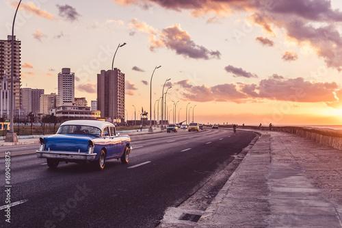 Foto op Canvas Havana Malecòn Havana