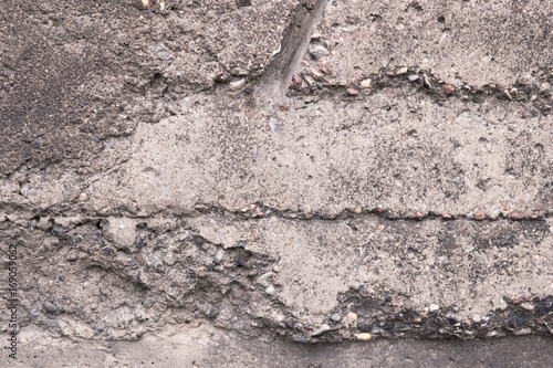 Poster Betonbehang cement walls