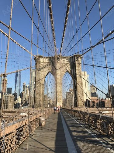 Foto op Canvas Brooklyn Bridge New York
