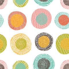 Cute pola dot. Seamless pattern.