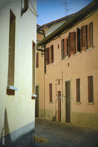 Foto op Canvas Milan Inzago (Milan, Lombardy, Italy): old street
