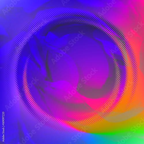 Leinwandbild Motiv Vector abstract background, rainbow