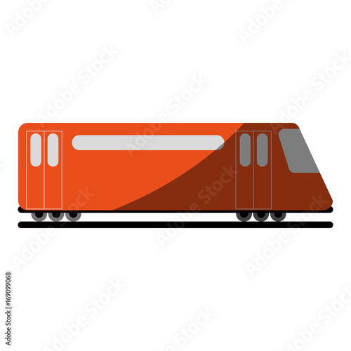 train public transport icon image vector illustration design